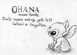"""""""Ohana"""" from Lilo & Stitch"""