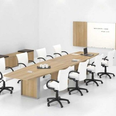 Conference Room Tables - Glass Wood