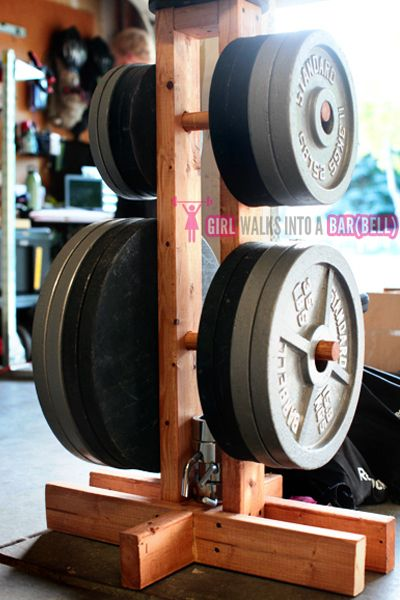 60 best home gym dream images on pinterest exercise rooms home diy plate storage projects garage gym organization solutioingenieria Gallery