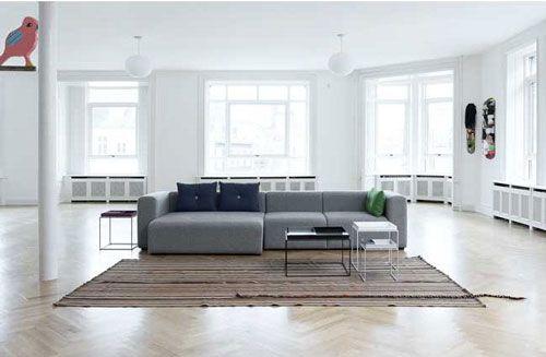 Mags er en utrolig populære sofa fra Hay i rigtig god kvalitet til en fornuftig pris. #hay #sofa #design #boligindretning