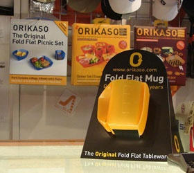Orikaso - First and simply the best - The Original Fold Flat Tableware