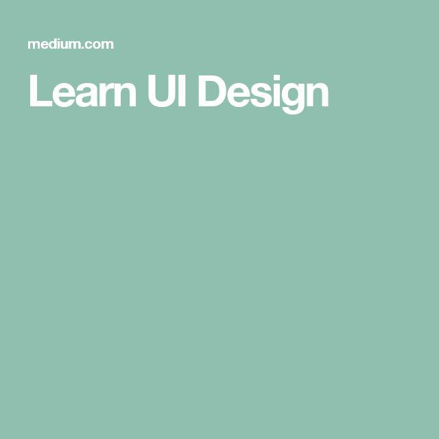 Learn UI Design