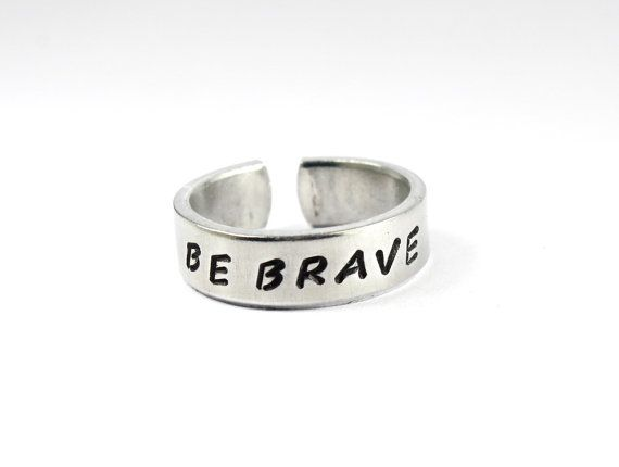 Be brave! Divergent ring