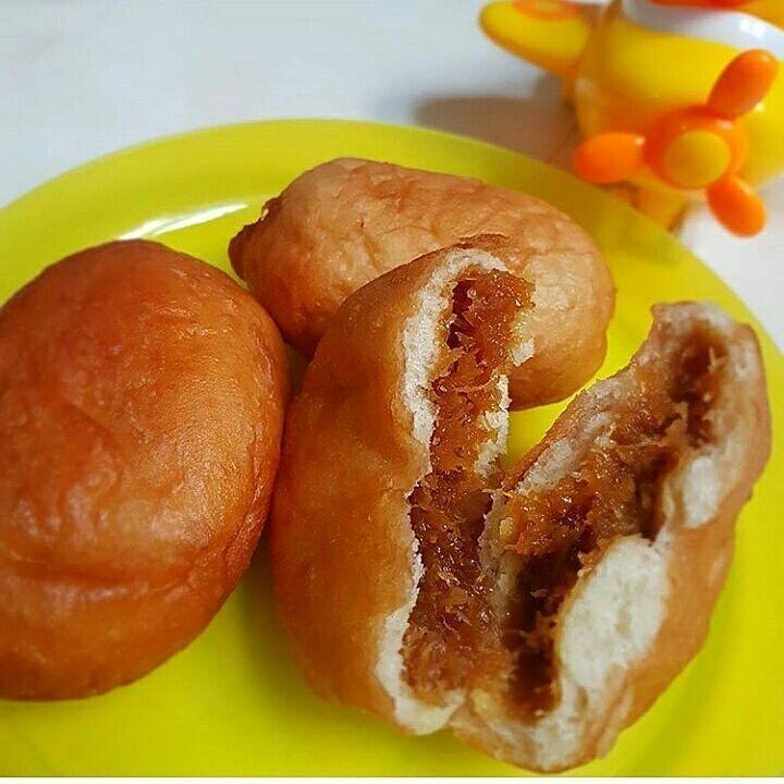 Roti Isi Kacang Instagram Food Roti Breakfast