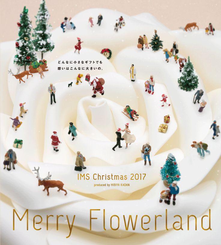 イムズのクリスマス。Merry Flowerland