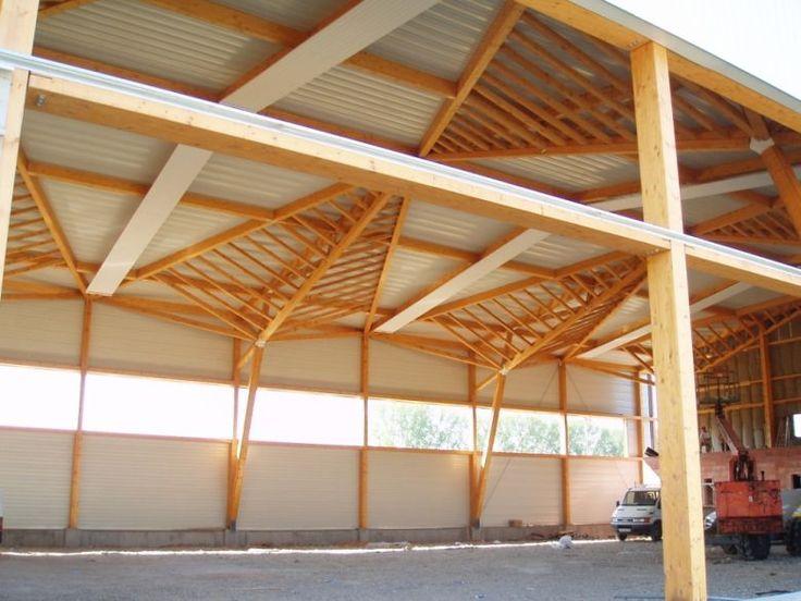 Oltre 1000 idee su bois de charpente su pinterest charpente carrelage gale - Anglade structure bois ...