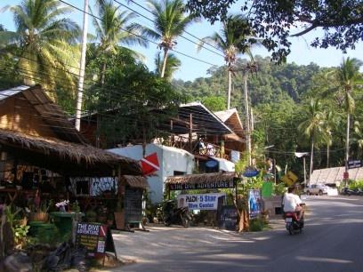Dive Center on the Kai Bae Beach, Koh Chang, Thailand
