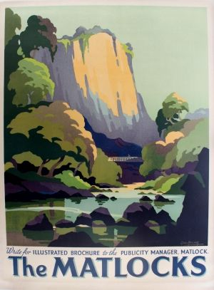 The Matlocks, 1930s - original vintage poster by George Ayling listed on AntikBar.co.uk