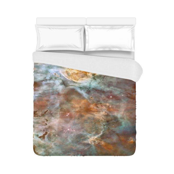 "Nebula Duvet Cover 86""x70"" ( All-over-print)"