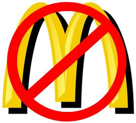 Anti-McDonald's in France: In the 1990s Jose Bove was a French farmer who was against hormone injection in beef.