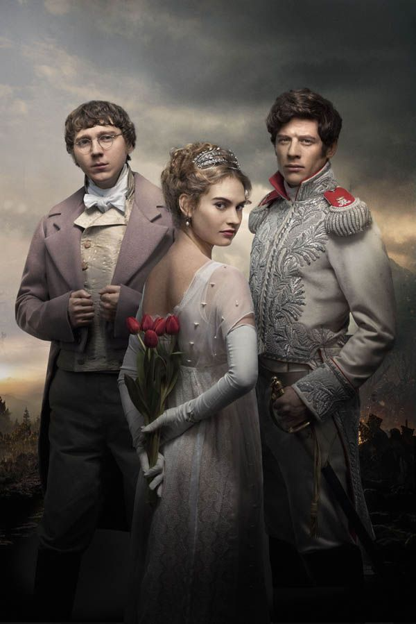 "A brand new promotional photo for BBC One's upcoming War and Peace adaptation has been revealed. Adapted from Leo Tolstoy's 1869 literary masterpiece by Mr Selfridge writer Andrew Davies, the six one-hour episodes will ""bring the classic to life for a modern audience on a truly epic scale"". Directed by Tom Harper (Peaky Blinders), War..."