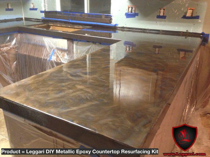#diy #metallic #epoxy #countertop #resurfacing #kits Are #easy To