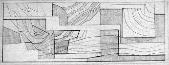 Eva Prokopová skica na relief