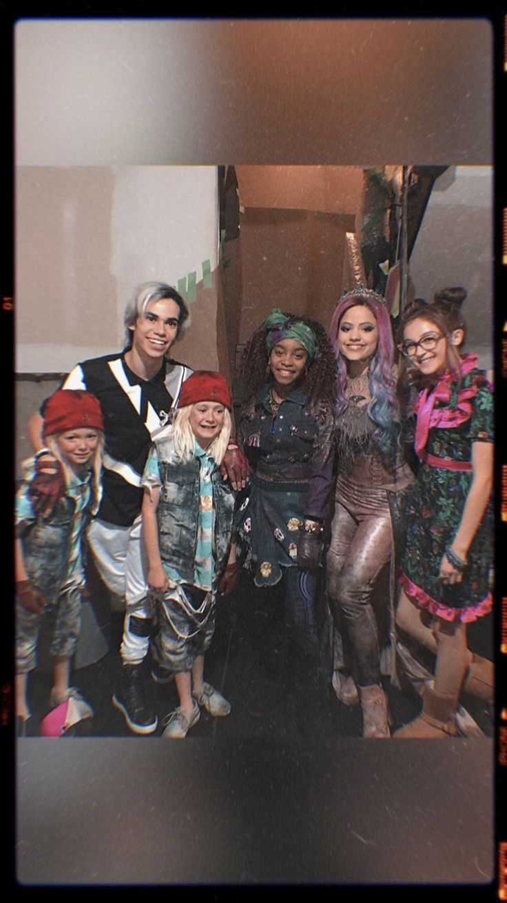 Descendants 3 behind the scenes carlos, audrey, and the