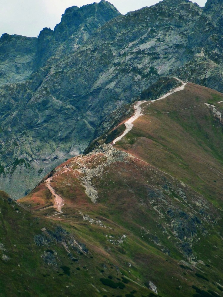 Mountains - hence me closer to Heaven  Tatra trails