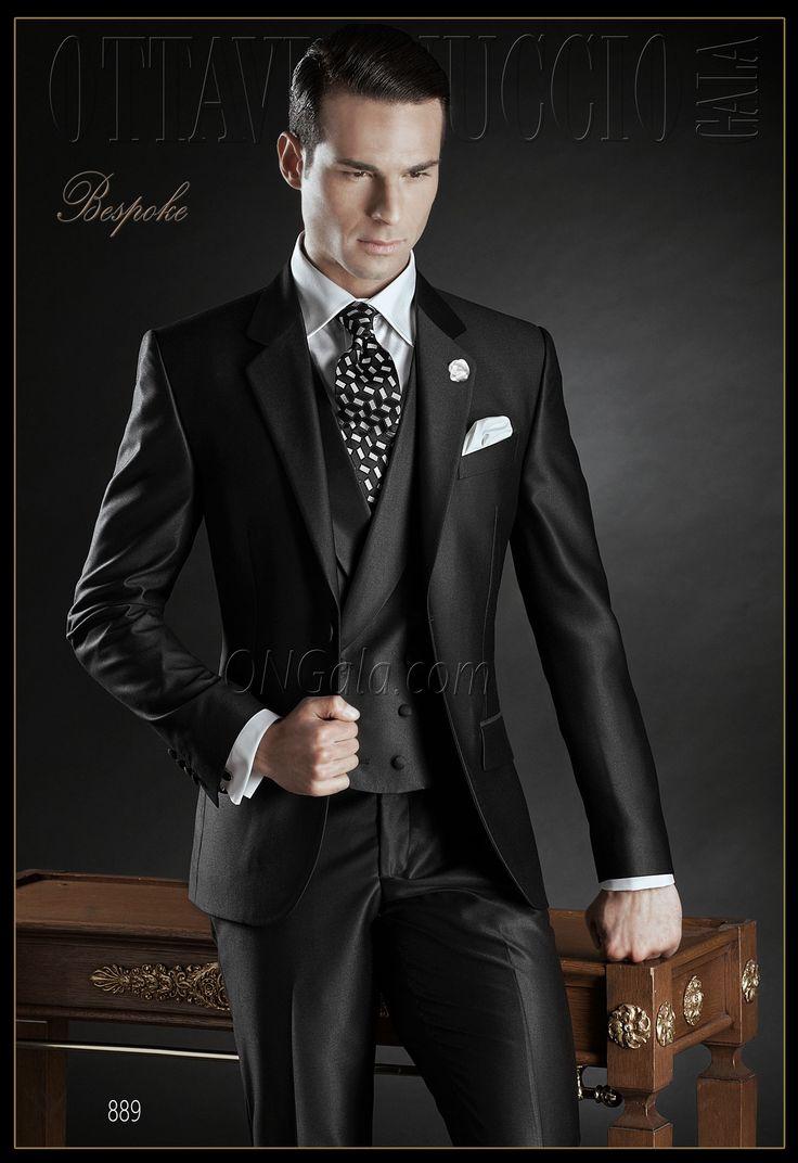 Traje de novio negro modelo 889 ONGala wedding suits