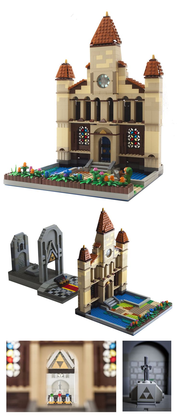 LEGO: Temple of Time by *WesTalbott on deviantART...........Holy shit I would love this. Where can I get them?