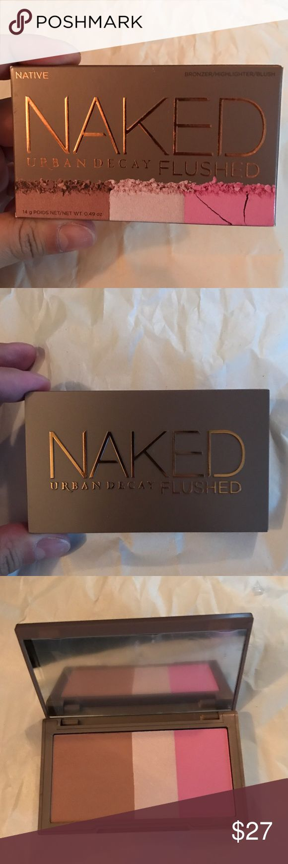 Urban Decay Naked Flushed in Native Brand new in box Urban Decay Naked Flushed in limited edition Native. Urban Decay Makeup Blush