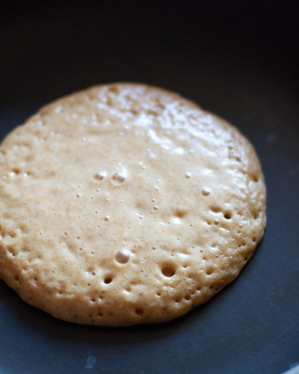 whole wheat pancakes for two. I tried this recipe this morning and it was delicious!