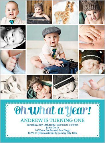 107 best baby boys 1st birthday invitations images on pinterest what a year boy 6x8 stationery card by poppy studio baby boy first birthdaybirthday boysfirst birthday invites filmwisefo