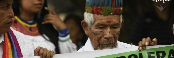 La lucha del pueblo Sarayaku en la Amazonía ecuatoriana contra las petroleras