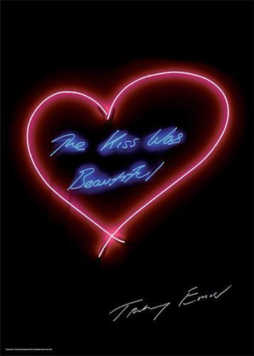 Tracey Emin SIGNED poster/print The Kiss Was Beautiful in Art, Prints, Contemporary (1980-Now) | eBay!