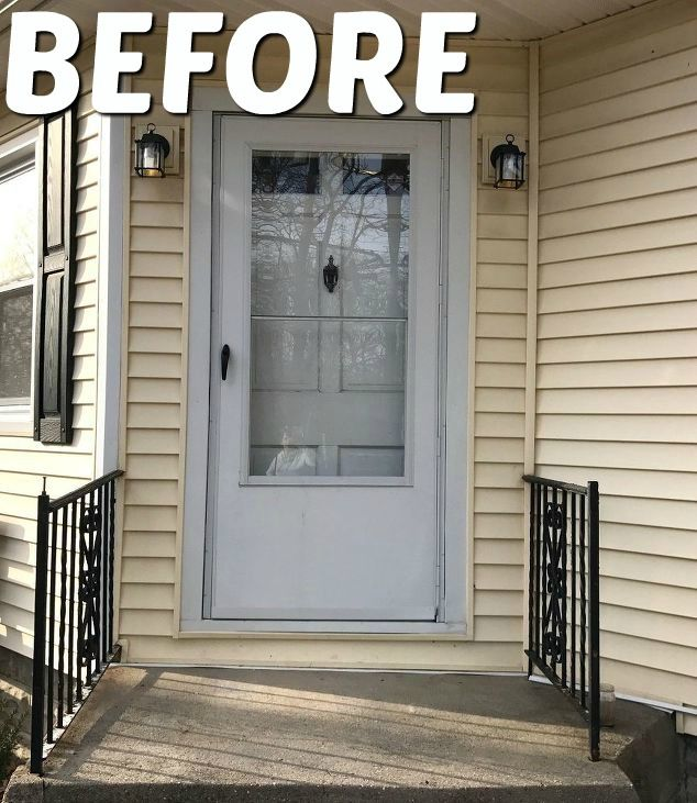 Front Door Makeover In 2019 Diy Projects Front Door