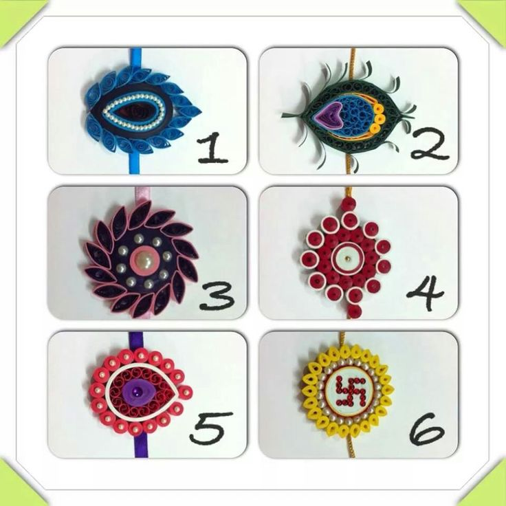 Rakhi designs, but I believe these can be modified for earrings too