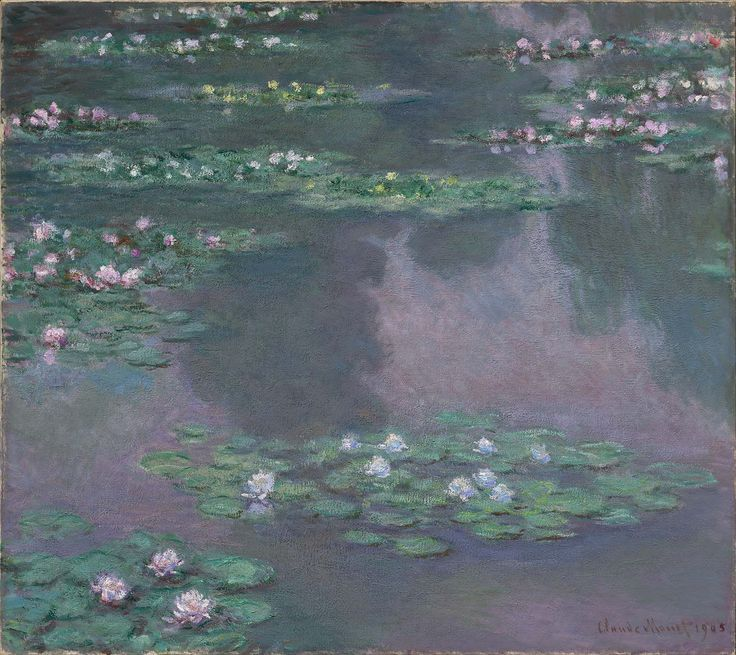 Water Lilies, 1905 Oil on canvas Claude Monet