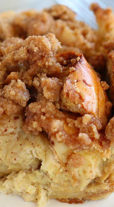 Cinnamon Vanilla Baked French Toast