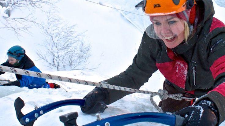 Ice Climbing Day Trip to Korouoma Canyon -Rovaniemi, Lapland, Finland