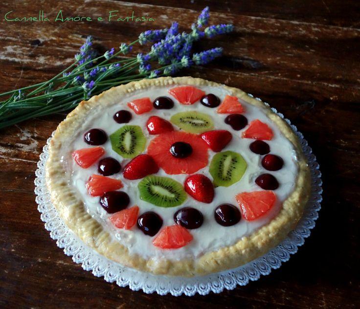 Crostata di frutta vegana +