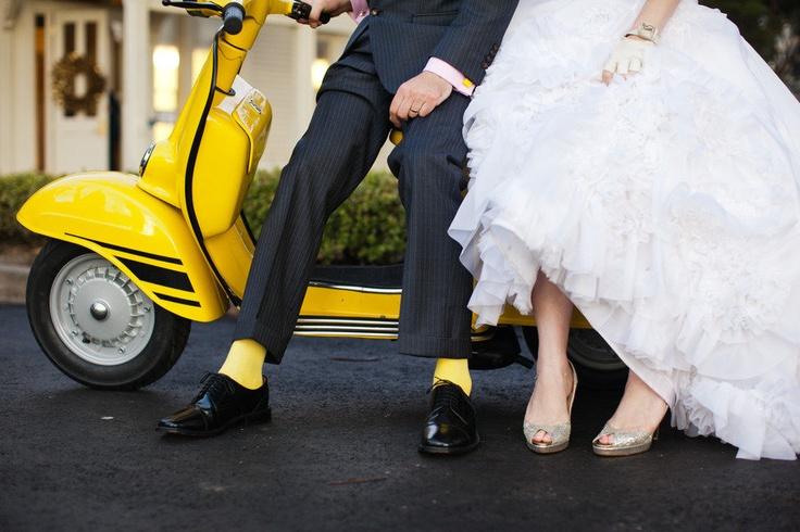vespa wedding decorations