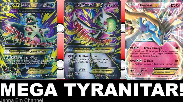 VIDEO: Pokemon Mega Tyranitar EX VS Mega Gardevoir & Shiny ...