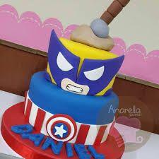 Resultado de imagen para tortas avengers