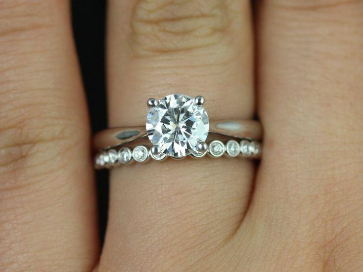 Best 25 Diamond wedding sets ideas on Pinterest Wedding band