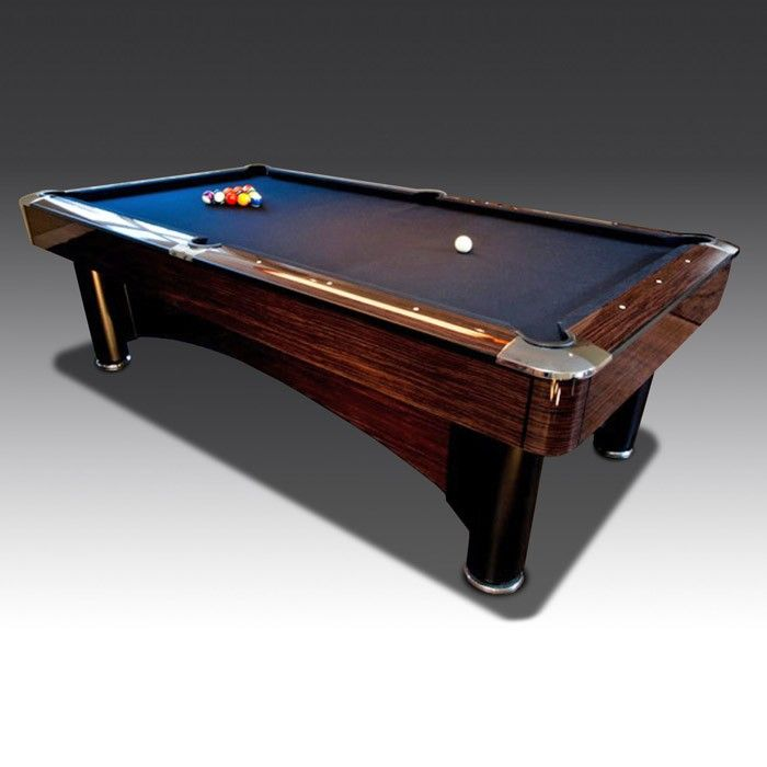 8ft Macassar American Pool Table | The Games Room Company
