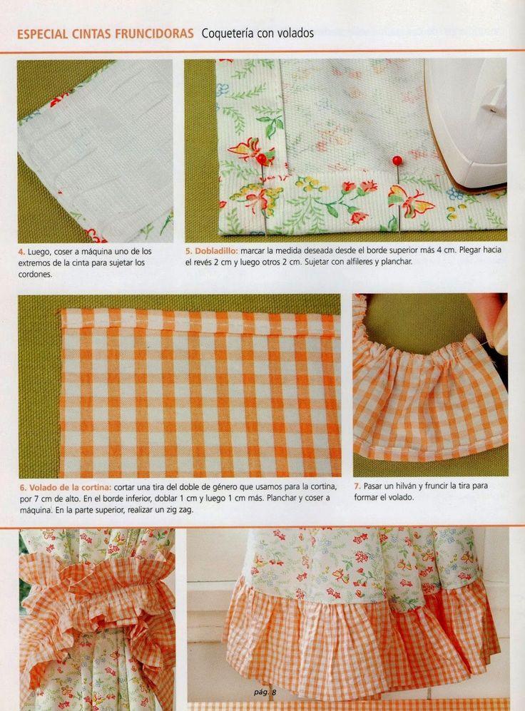 Como hacer cortinas paso a paso cortinas almohadones for Como hacer cortinas de cocina