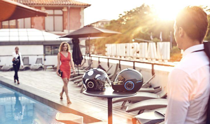 SHARK Helmet Metro Female/Male model.