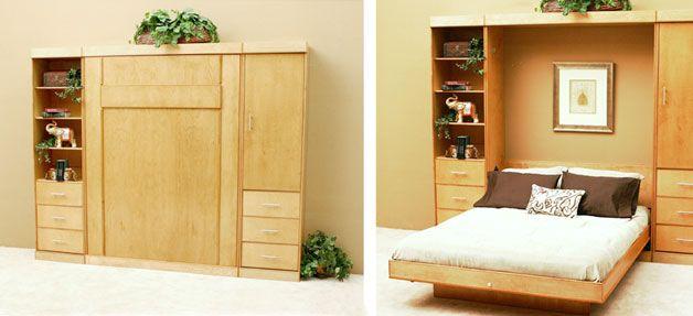 Image result for scandinavian murphy bed