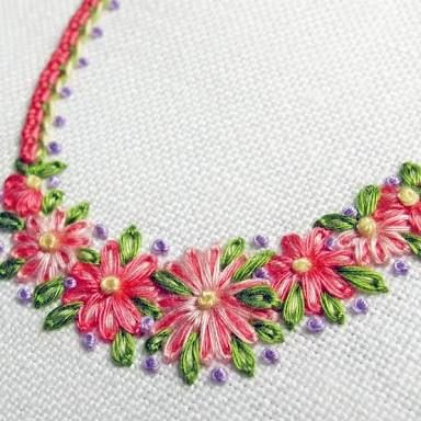 surface embroidery - Google Search