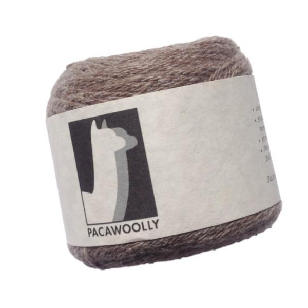 Pacawoolly Rose Grey, 100% Australian Alpaca, 4 ply, 50g - I Wool Knit