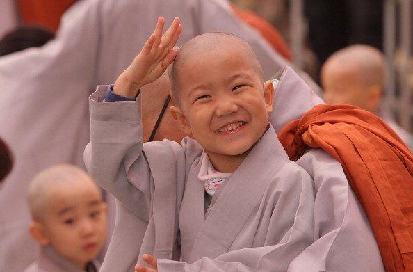 Foto Anak-anak belajar jadi biksu di Seoul, Korea Selatan   Gambar Anak-anak belajar jadi biksu di Seoul, Korea Selatan - Yahoo! News Indonesia