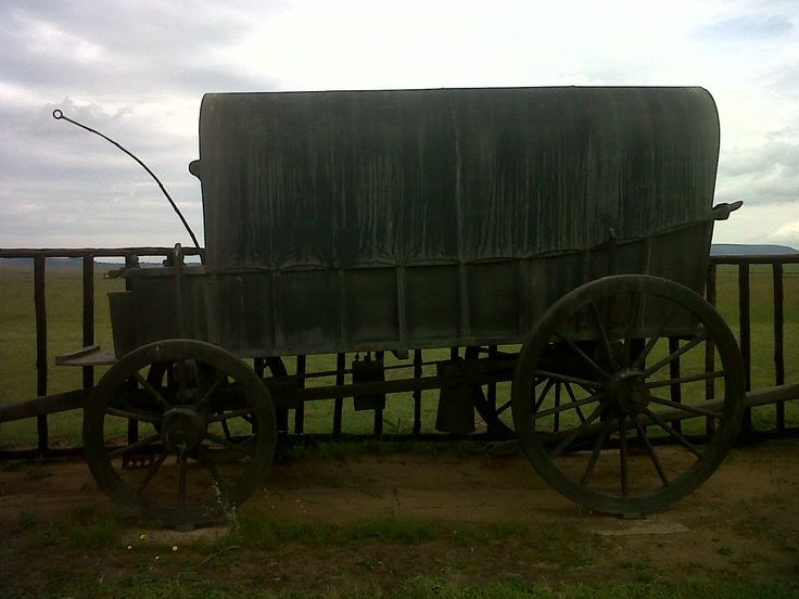Battle of Blood River monument (16 December, 1838), just outside Dundee, kwaZulu-Natal, South Africa