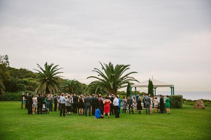 Burwood Rotunda wedding ceremony. Newcastle wedding photographer. Image: Cavanagh Photography http://cavanaghphotography.com.au