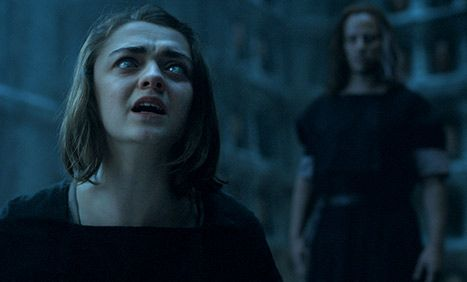 Maisie Williams' Reaction to the Game of Thrones Season 5 Finale Is Perfect ... Game of Thrones  #GameofThrones