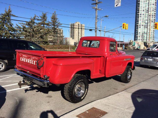 Chevrolet Trucks Kijiji: 1958 Chevrolet Apache 4x4, Trades ??