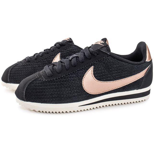official photos b05d4 42e3d ... Découvrez les Cortez Nylon W Grise de Nike pour Femme, alliant style et  décontraction dans ...