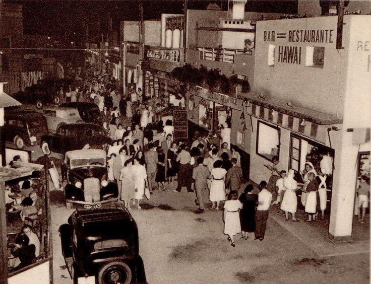 1953 Chiringuitos de la Barceloneta. Barcelona, Catalunya. Espanya