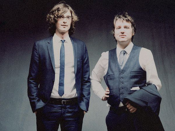 The Milk Carton Kids are Joey Ryan (left) and Kenneth Pattengale.